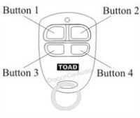 Toad remote fob