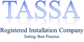 Tassa registered installer logo